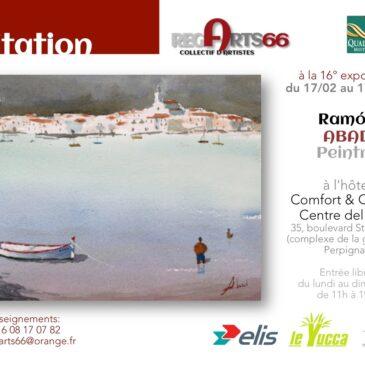 Exposición en Perpignan